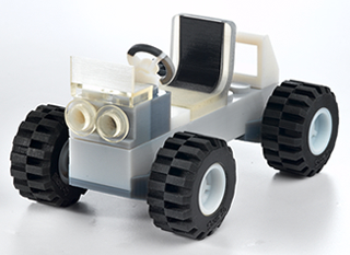 Car - 2K part printed with objet printer