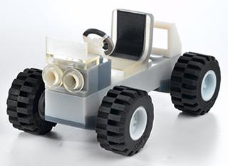 Car - 2K part printed with objet printer